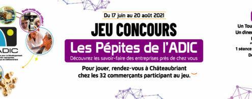 """Bravo aux 9 gagnants du jeu """"Les Pépites de l'Adic"""" !"""
